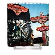 Harley Davidson Cafe Las Vegas Shower Curtain