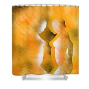 Harmony Of Three Shower Curtain
