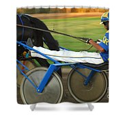 Harness Racing 12 Shower Curtain