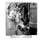 Harold Lloyd (1889-1971) Shower Curtain