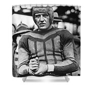 Harold (red) Grange Shower Curtain
