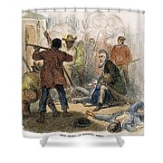 Harpers Ferry, 1859 Shower Curtain by Granger