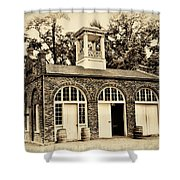 Harpers Ferry Armory Shower Curtain