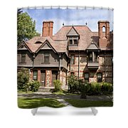 Harriet Beacher Stowe Home Shower Curtain