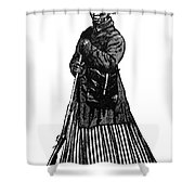 Harriet Tubman (c1823-1913) Shower Curtain