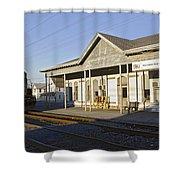 Harrington Yard Office Shower Curtain