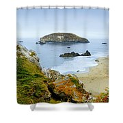 Harris Beach Shower Curtain