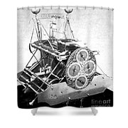 Harrisons First Marine Timekeeper Shower Curtain by Photo Researchers