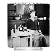 Harry Philmore Langdon Shower Curtain