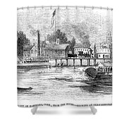 Hartford, 1853 Shower Curtain