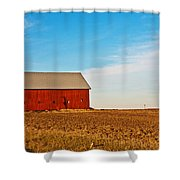 Harvest Is In Shower Curtain