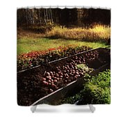 Harvesting The Crop Shower Curtain