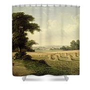 Harvesting Shower Curtain by Walter Williams