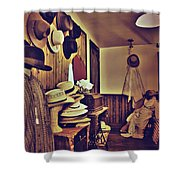 Hat Room Shower Curtain