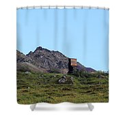 Hatcher Pass Mine Shower Curtain