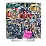 Hats And Handbags Shower Curtain