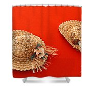 Hats Shower Curtain