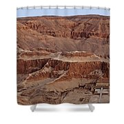 Hatshepsuts Mortuary Temple Shower Curtain