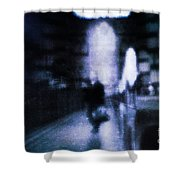 Haunted Shower Curtain by Andrew Paranavitana