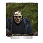 Haunted Goblin Shower Curtain