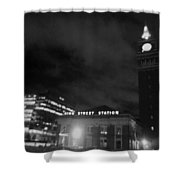 Haunted King Street Station Shower Curtain