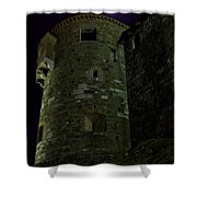 Haunted Tower Shower Curtain