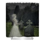 Haunting Shower Curtain by Amanda Elwell
