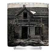 Haunting East Shower Curtain by Empty Wall
