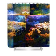 Have I Died And Gone Somewhere I Don't Believe In? Shower Curtain