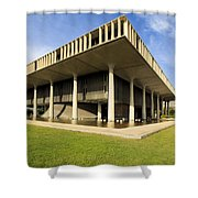 Hawaii Capitol Building Shower Curtain
