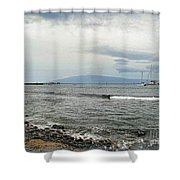 Hawaiian Coastline Shower Curtain