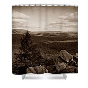 Hawk Mountain Sanctuary S Shower Curtain