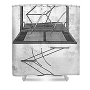 Hawkins Polygraph, 1803 Shower Curtain