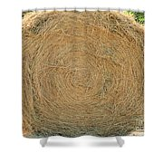 Hay Ball Shower Curtain