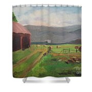 Hay Day Farm Shower Curtain