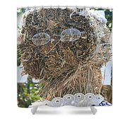 Hay Lady Shower Curtain