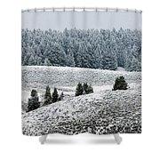 Hayden Valley Storm Shower Curtain