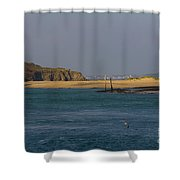 Hayle Harbour Shower Curtain
