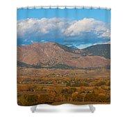 Haystack Autumn View Shower Curtain