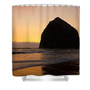 Haystack Reflections Shower Curtain