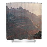 Haze And Last Light Shower Curtain