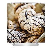 Hazelnut Cookies Shower Curtain