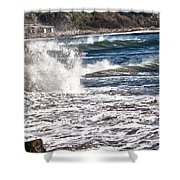 hd 385 hdr - Splash 1 Shower Curtain