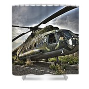 Hdr Image Of An Afghanistan National Shower Curtain