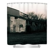 He Ginning Systems Shower Curtain