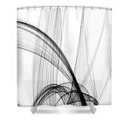 He Lifts Me Higher Shower Curtain