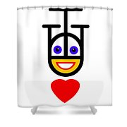 Head Over Heels Shower Curtain