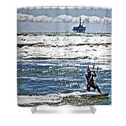 Heading Back Out Shower Curtain
