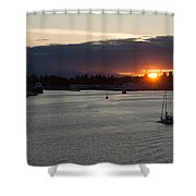 Heading Out Of Town Shower Curtain