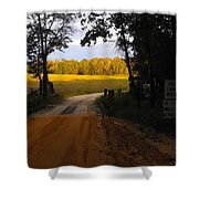 Heading To Sunlight Shower Curtain